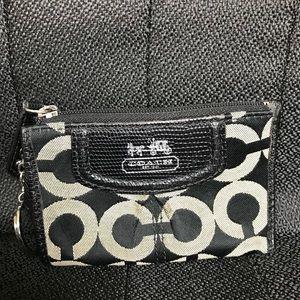 Coach black card case